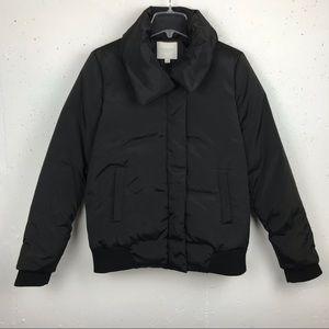 Piperlime Shawl Puffer Down Jacket Black Large